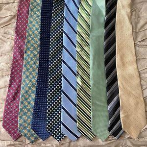 9 tie bundle